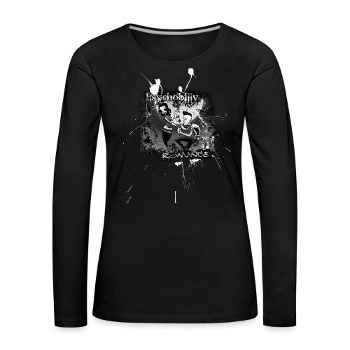 psychobilly romance - Frauen Premium Langarmshirt