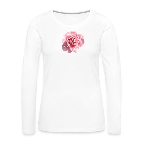 Rose Logo - Women's Premium Longsleeve Shirt
