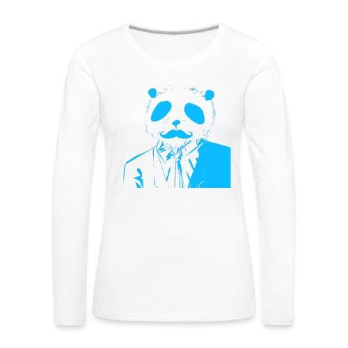 BluePanda Logo - Women's Premium Longsleeve Shirt