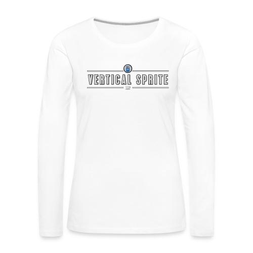 Vertical Sprite Portrait2 - Women's Premium Longsleeve Shirt