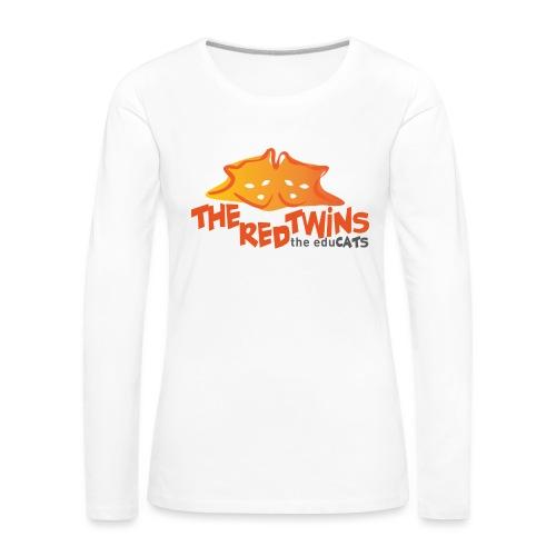 TRT Logo - Maglietta Premium a manica lunga da donna