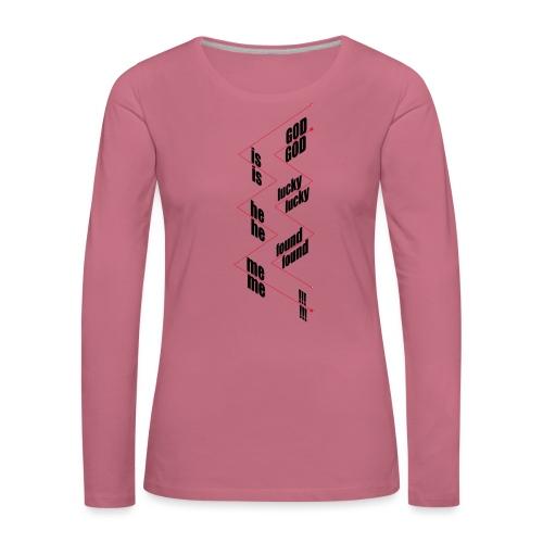 G.I.L.H.F.M. - Vrouwen Premium shirt met lange mouwen