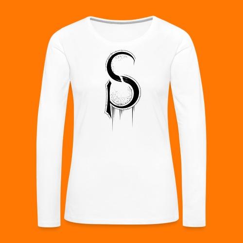 ASCP-sign-black transp - Women's Premium Longsleeve Shirt