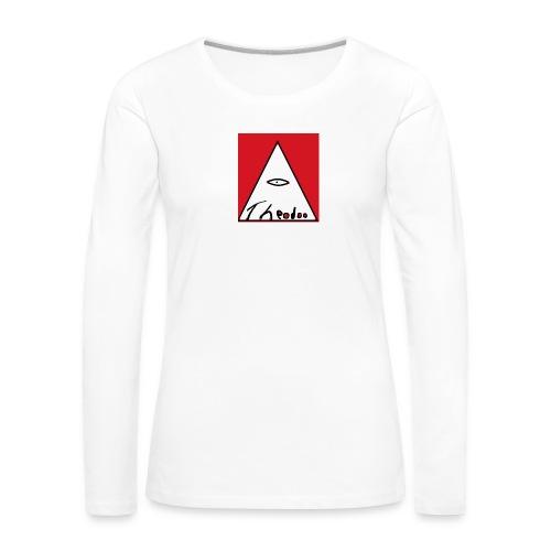 theodoo 1 - Långärmad premium-T-shirt dam