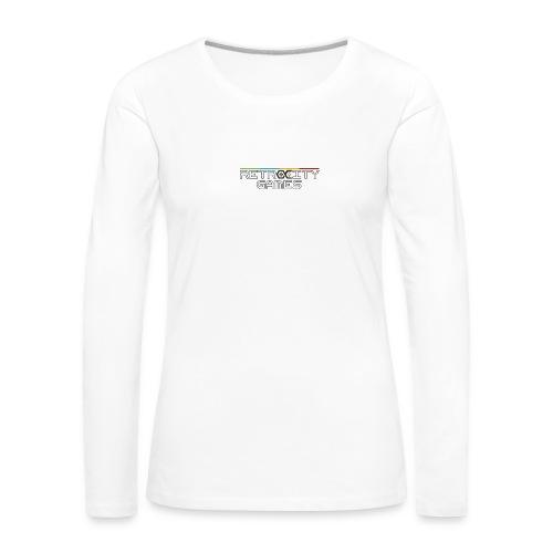 tasse officielle - T-shirt manches longues Premium Femme