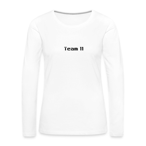 Team 11 - Women's Premium Longsleeve Shirt