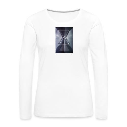 SHAPE - Koszulka damska Premium z długim rękawem