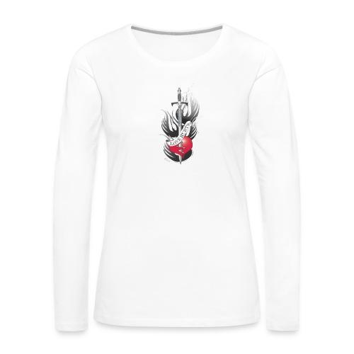 Love Hurts 3 - Liebe verletzt - Frauen Premium Langarmshirt