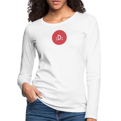 Code - :D: - T-shirt manches longues Premium Femme