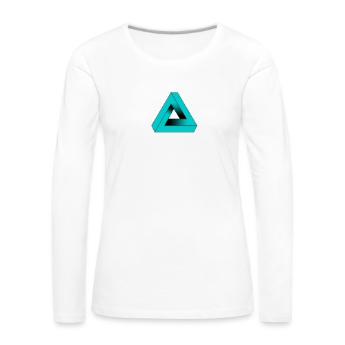 Impossible Triangle - Women's Premium Longsleeve Shirt