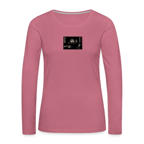 Rock_Stars_on_Stage_NEW - Women's Premium Longsleeve Shirt