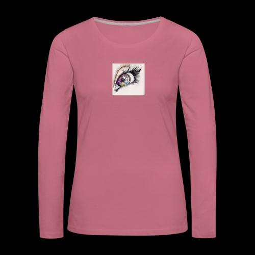 desenho design olhos eye Favim com 403064 - Vrouwen Premium shirt met lange mouwen