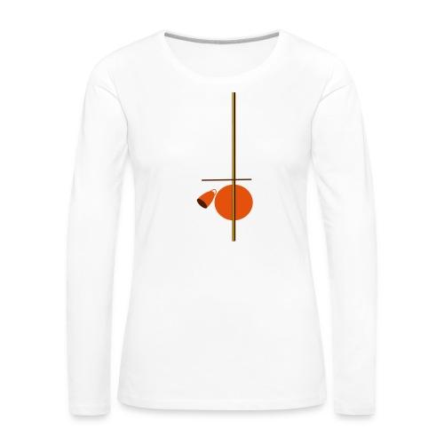 berimbau caxixi - Women's Premium Longsleeve Shirt