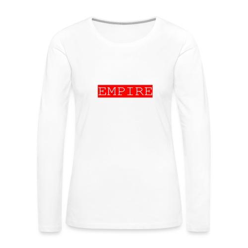 EMPIRE - Maglietta Premium a manica lunga da donna