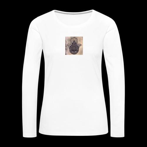 0fb3c3186e5803652adaa4a80715af22 - Vrouwen Premium shirt met lange mouwen