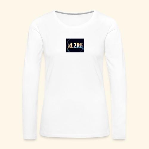 received 2208444939380638 - T-shirt manches longues Premium Femme