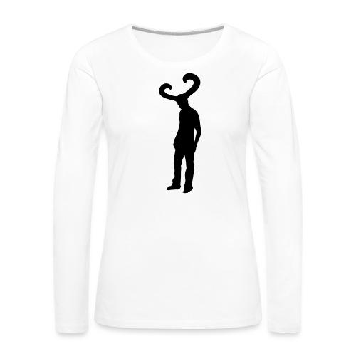 KC - Vrouwen Premium shirt met lange mouwen