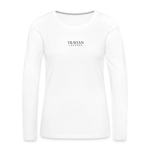Font_legend_black - Women's Premium Longsleeve Shirt