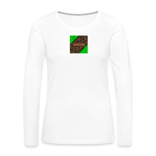 Wokky T Shirt - Långärmad premium-T-shirt dam