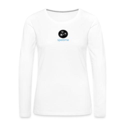 SPELTIME - Långärmad premium-T-shirt dam