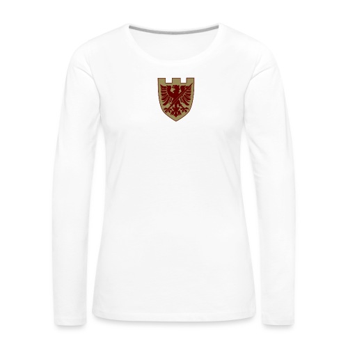 tremoniawappen6 - Frauen Premium Langarmshirt