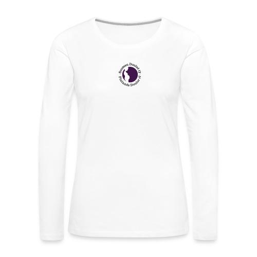 Suomen Doulat ry logo - Naisten premium pitkähihainen t-paita