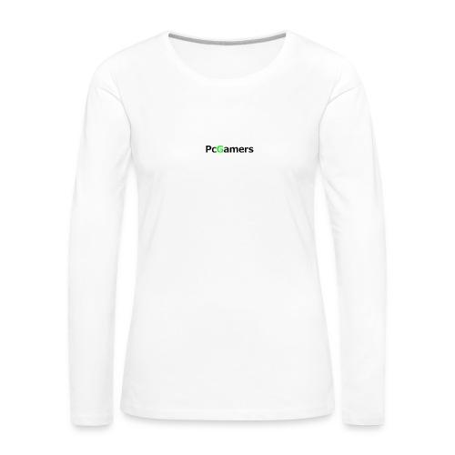 pcgamers-png - Maglietta Premium a manica lunga da donna