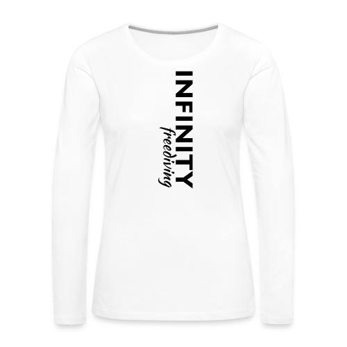Infinity - Frauen Premium Langarmshirt