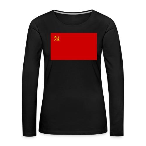 Eipä kestä - Naisten premium pitkähihainen t-paita
