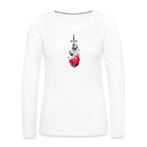 Love Hurts 2 - Liebe verletzt - Frauen Premium Langarmshirt