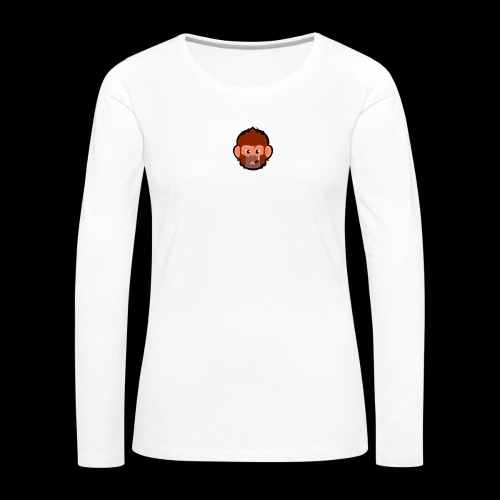 pogo clan cover - Dame premium T-shirt med lange ærmer
