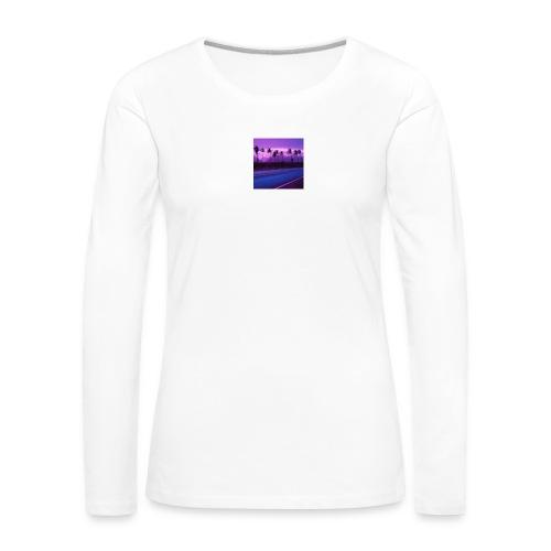 SoVVave - Koszulka damska Premium z długim rękawem