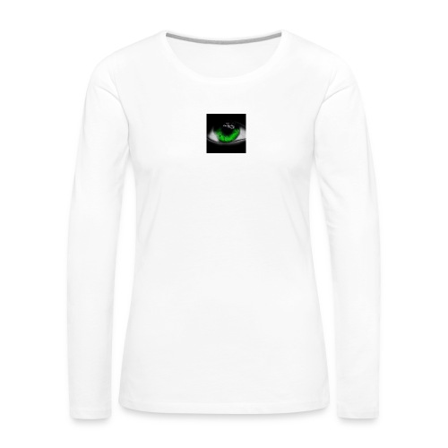 Green eye - Women's Premium Longsleeve Shirt