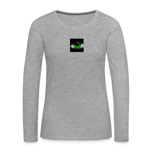 Green eye - Women's Premium Longsleeve Shirt
