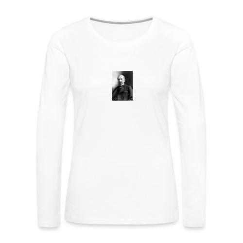 Rockerfeller - Dame premium T-shirt med lange ærmer