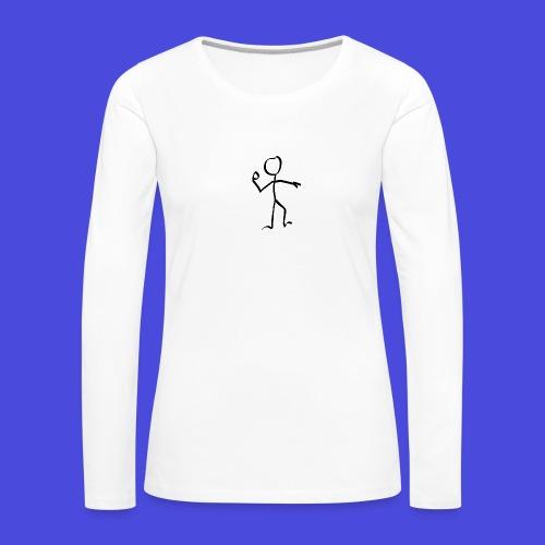 stickman-151358_640 - Frauen Premium Langarmshirt