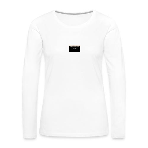T-shirt staff Delanox - T-shirt manches longues Premium Femme
