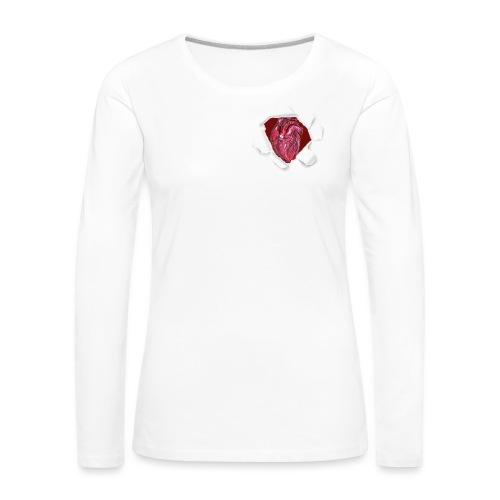 CUORE BATTICUORE - Maglietta Premium a manica lunga da donna