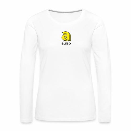 Marchio aulab - Maglietta Premium a manica lunga da donna