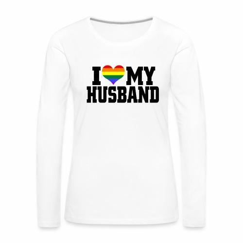 I Heart My Husband - Women's Premium Longsleeve Shirt