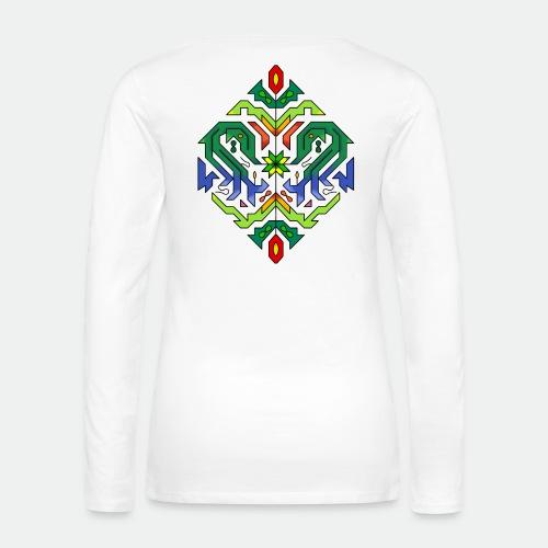 l étoile Mandala - Women's Premium Longsleeve Shirt