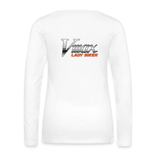 jan2014 vers7 lady png - Frauen Premium Langarmshirt