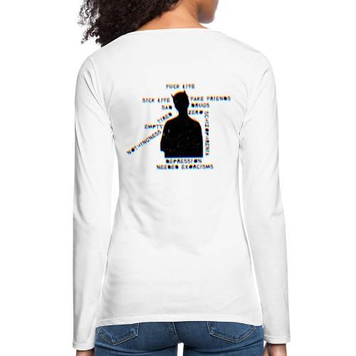 Sick Life (black) - T-shirt manches longues Premium Femme