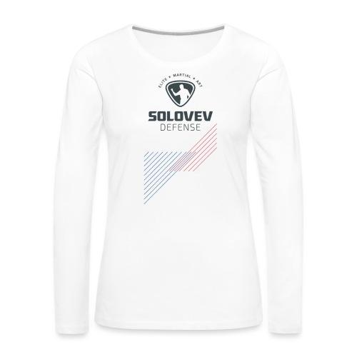 SD EMA back grey - Women's Premium Longsleeve Shirt