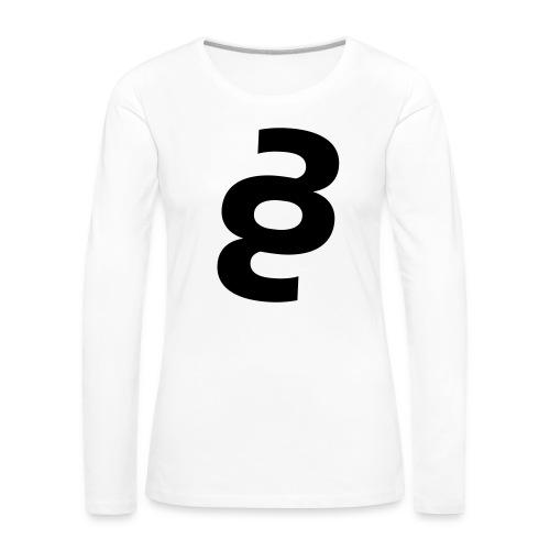 33.53 (collection N1) - Frauen Premium Langarmshirt