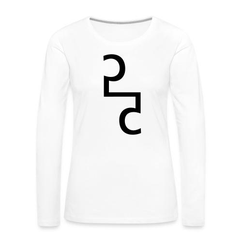 55.55 (collection N1) - Frauen Premium Langarmshirt