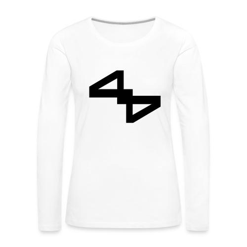 44.54 (collection N1) - Frauen Premium Langarmshirt