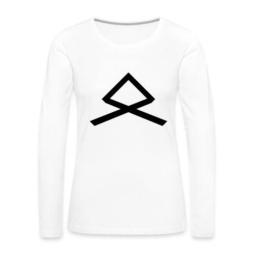 77.58 (collection N1) - Frauen Premium Langarmshirt