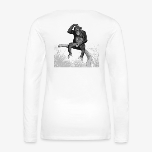 Monkey Music - Women's Premium Longsleeve Shirt