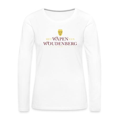 DKA_WvW_PNG - Vrouwen Premium shirt met lange mouwen